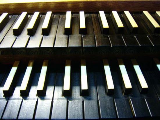 Détail des claviers