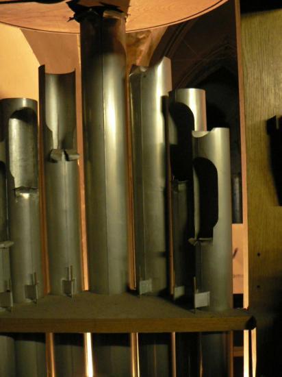 Tuyaux du principal (partie arrière)